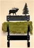 Towel Rack- Elk Design