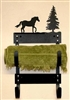 Towel Rack- Horse Design