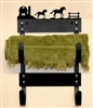 Towel Rack- Horse and Barn Design