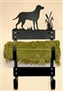 Towel Rack- Lab Retriever Design
