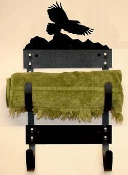 Towel Rack- Eagle Design
