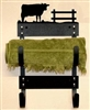 Towel Rack- Cow Design
