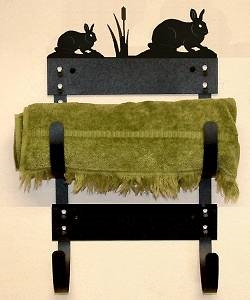 Towel Rack- Rabbit Design