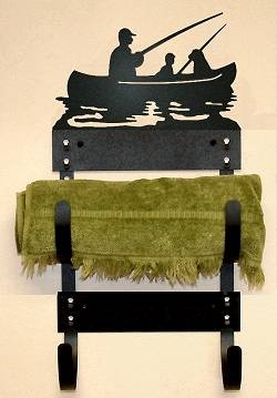 Towel Rack- Fisherman Design
