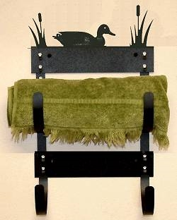 Towel Rack- Duck Design