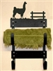 Towel Holder Rack- Llama Design