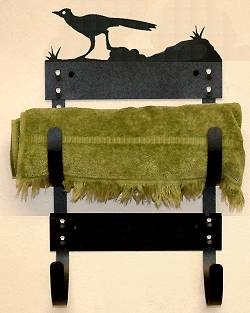 Towel Rack- Roadrunner Design