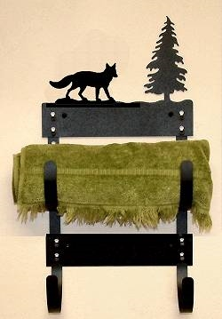 Towel Rack- Fox Design