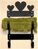 Towel Rack- Heart Design