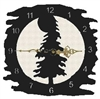 Rustic Metal Clock- Tree Design