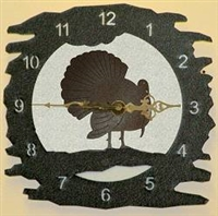 Rustic Metal Clock- Turkey Design