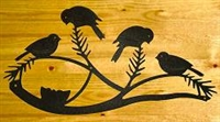 Wall Art- Chickadee Design