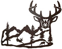 Silhouette Wall Art- Deer Design