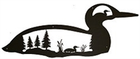 Silhouette Wall Art- Loon Design