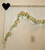 Curtain Rod Holder Pair- Heart Design