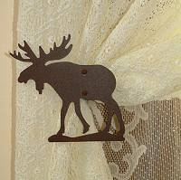 Swag Holder- Pair- Moose Design