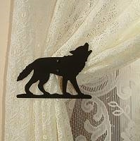 Swag Holder- Pair- Wolf Design