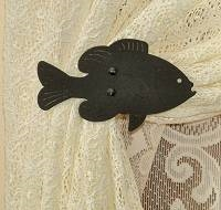 Swag Holder- Pair- Panfish Design