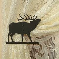 Swag Holder- Pair- Elk Design