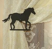 Swag Holder- Pair- Horse Design