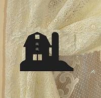 Swag Holder- Pair- Barn Design