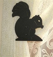 Swag Holder- Pair- Squirrel Design