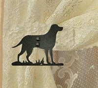 Swag Holder- Pair- Lab Retriever Design