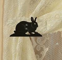 Swag Holder- Pair- Rabbit Design