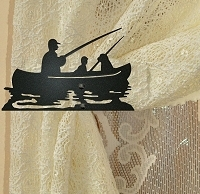 Swag Holder- Pair- Fisherman Design