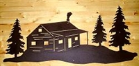 Wall Art- Cabin Design