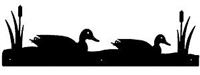 Rustic Scenery Style Wall Art - Sitting Duck Design
