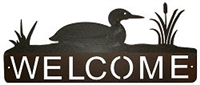 Horizontal Welcome Sign- Loon Design