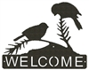 Horizontal Welcome Sign- Chickadee Design