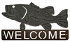 Horizontal Welcome Sign- Bass Design