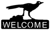 Horizontal Welcome Sign- Roadrunner Design