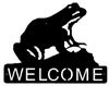 Horizontal Welcome Sign- Frog Design