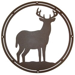 Circle Wall Art- Deer Design