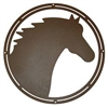 Circle Wall Art- Horse Head Design