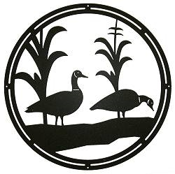 Circle Wall Art- Geese Design