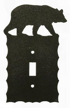 Electrical Switch Wall Plates- Bear Design