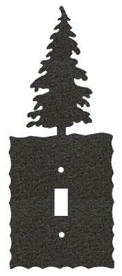Electrical Switch Wall Plate- Tree Design