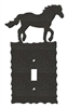 Electrical Switch Wall Plates- Horse Design