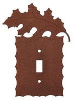 Electrical Switch Wall Plate- Oak Leaf Design