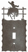 Electrical Switch Wall Plate- Bucking Bronco Design