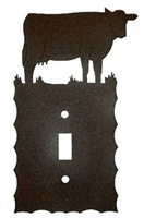 Electrical Switch Wall Plate- Cow Design