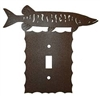 Electrical Switch Wall Plate- Muskie Design