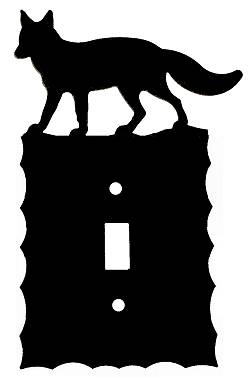 Electrical Switch Wall Plate- Fox Design