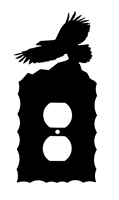 Electrical Outlet Wall Plate- Eagle Design