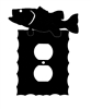 Electrical Outlet Wall Plate- Bass Design