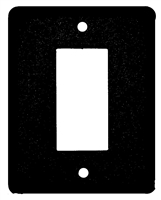Electrical Plate- GFI/Rocker- Blank Design